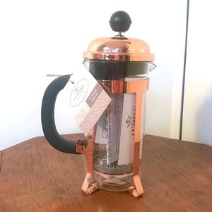 Cuisine Superieur: NWT Rose Gold French Press!